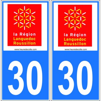 Plaques Immatriculations Languedoc Roussillon