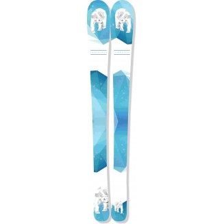 Sticker ski Ours II