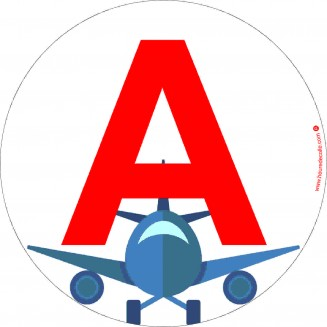 Sticker A  Avion (jeune conducteur)