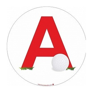 Sticker A Golf (jeune conducteur)