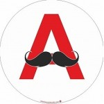 Sticker A Moustache II (jeune conducteur)
