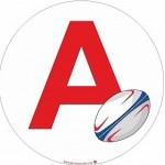 Sticker A Rugby (jeune conducteur)