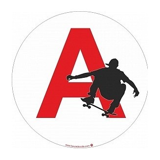 Sticker A Skate (jeune conducteur)