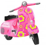 Scooter rose à personnaliser