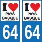 64 - I love Pays Basque